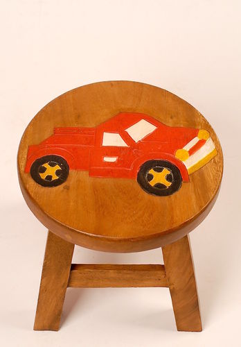 Kinder Hocker aus Holz, Pick Up